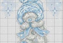 Cross stitch - Me to you