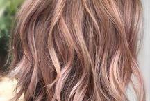 Волосы цвета пастель