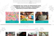 Website that focus on traditional peranakan food / Website that focus on traditional peranakan food