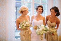 Dresses for bridesmaids / Inspirações para vestidos das madrinhas de casamento. #madrinhas #dress #vestido #wedding #bridesmaid