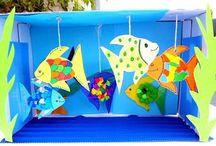 Regenbogenfisch Karneval