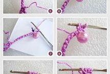 croche necklaces