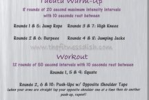 Workouts  / by Sarah Blakely