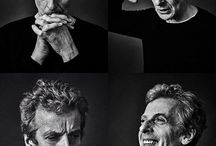 ♡ Peter Capaldi / Mainly pictures of a adorable silver haired Scottish owl ♡  Also 6ft and known to travel in a blue box