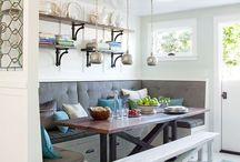 Contemporary Country Kitchens, Nooks & Breakfast Rooms / by Woodstock Craft