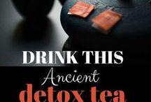 Detox tea & waters
