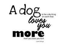 Dogs make Me Happy. Always.