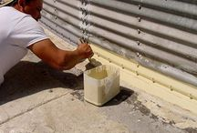 Grain Bin Waterproofing