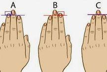 longueur de ses doigts