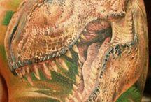 Tattoos with Dinos