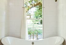 m+e - bathroom design/style / by Erika Walter