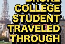 travelling while you're a student - tips