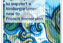 French Immersion (ideas for parents) / Pins to help parents (of French Immersion students) who don't necessarily speak French