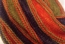 3. Shawl, scarf / stricken / knitting