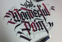 Black Letter / Calligraphy