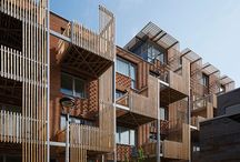 vydrica drevo balkony