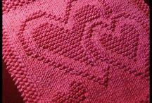 knitting potholder