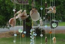 Seashell wind chimes