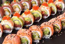 Sushi maken / Eten