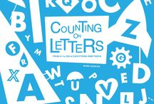 Counting on Letters: From A to Z and 1 to 26 / This colorful alphabet and counting book is an exciting introduction to letter and numbers for young children who are just beginning to recognize letters and numbers. Lots of elements combine to emphasize learning but in such a clever, fun-to-look-at way that readers won't even realize they are learning as they go. Each letter is presented in a strongly contrasting color scheme that combines one saturated hue with white for a bold look.