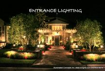 Products I Love / architectural lighting #orangecountylandscapelighting, #Illuminated Concepts #OClights #Outdoorlighting for this classic home in #SouthOrangeCounty