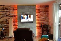 DIY TV Wand / Wall