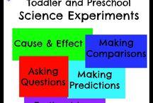 Homeschool Science Preschool & Kindergarten