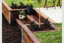 jardin aménagement pente