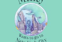 Minty Wants To Go To New York City / Minty the blue whale is seeking adventure!   From New Zealand to New York, across the oceans of the world.   Join Minty as he travels from sea to city.   A whale tale about following your dreams, having the courage to do the right thing and saving our precious oceans.