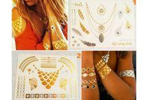 Jewelry tattoo