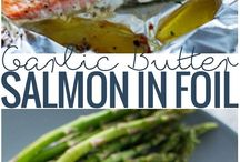 Salmon/fish recipes