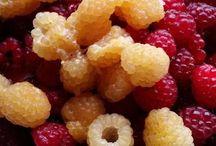 Opskrifter - Hindbær / Hindbær brugt i mad, kager, desserter...