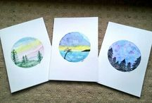 Watercolour Paintings and Art / A collection of my artwork ;) Feel free to contact me or share my pics!  xx