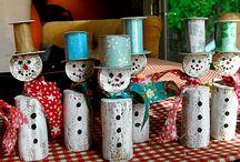 Christmas house decos