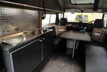 land rover interior camper