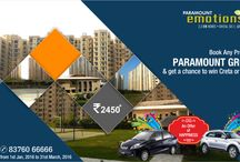 2/3/4 BHK residential flats / The 2/3/4 BHK residential flats at Paramount Emotions are equipped with all modern amenities, state of the art infrastructure and everything that you need for a comfortable living. http://goo.gl/Jq8q9P