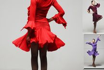Dance costumes and fashion
