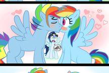 Rainbow Dash and Blitz