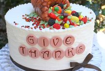 Thanksgiving Cakes, Desserts, and Sweets