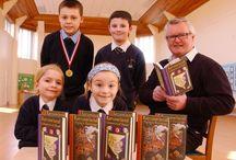 St Norbert's Catholic Primary School Author Visit Jack Trelawny / St Norbert's Catholic Primary School Author Visit Jack Trelawny. Location PE11 1NJ (UK).