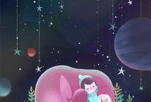 Children's Picture Book Inspiration Board / I write children's picture books, and inspiration is everywhere!.