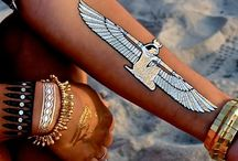 Flash Tattoos / We absolutely love Flash Tattoos! They are so cool, cute and fun!