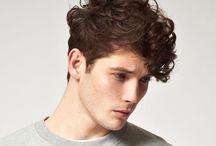 Curly hair styles for men