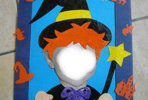 sorcière d'halloween à faire avec des petits