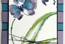 """Stamp:Gentle Whisper / Handmade cards featuring the stamp """"Gentle Whisper"""" by Penny Black."""