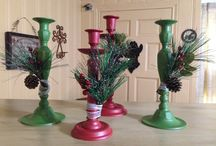 Shabby Christmas Inispiration / Follow for Christmas ideas and inspiration.