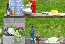 Záhradné regály, lavice tvarnice