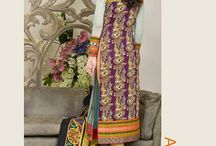 Asim Jofa Luxury Lawn Eid Collection 2015