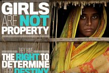 End Child Marriage and FGM / We can make history. Help end to child marriage and female genital mutilation everywhere, forever. #GirlSummit  http://uni.cf/GS14
