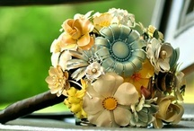 Brooch bouquets - yellow